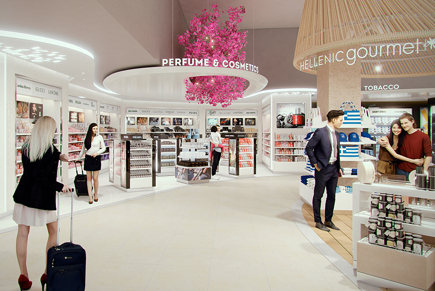 Travel Retail mostazadesign Duty free airport